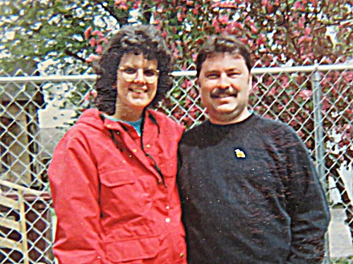 Carol and Me old photo