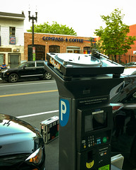 Shaw is so cool you have to pay for parking with with vinyl instead of plastic