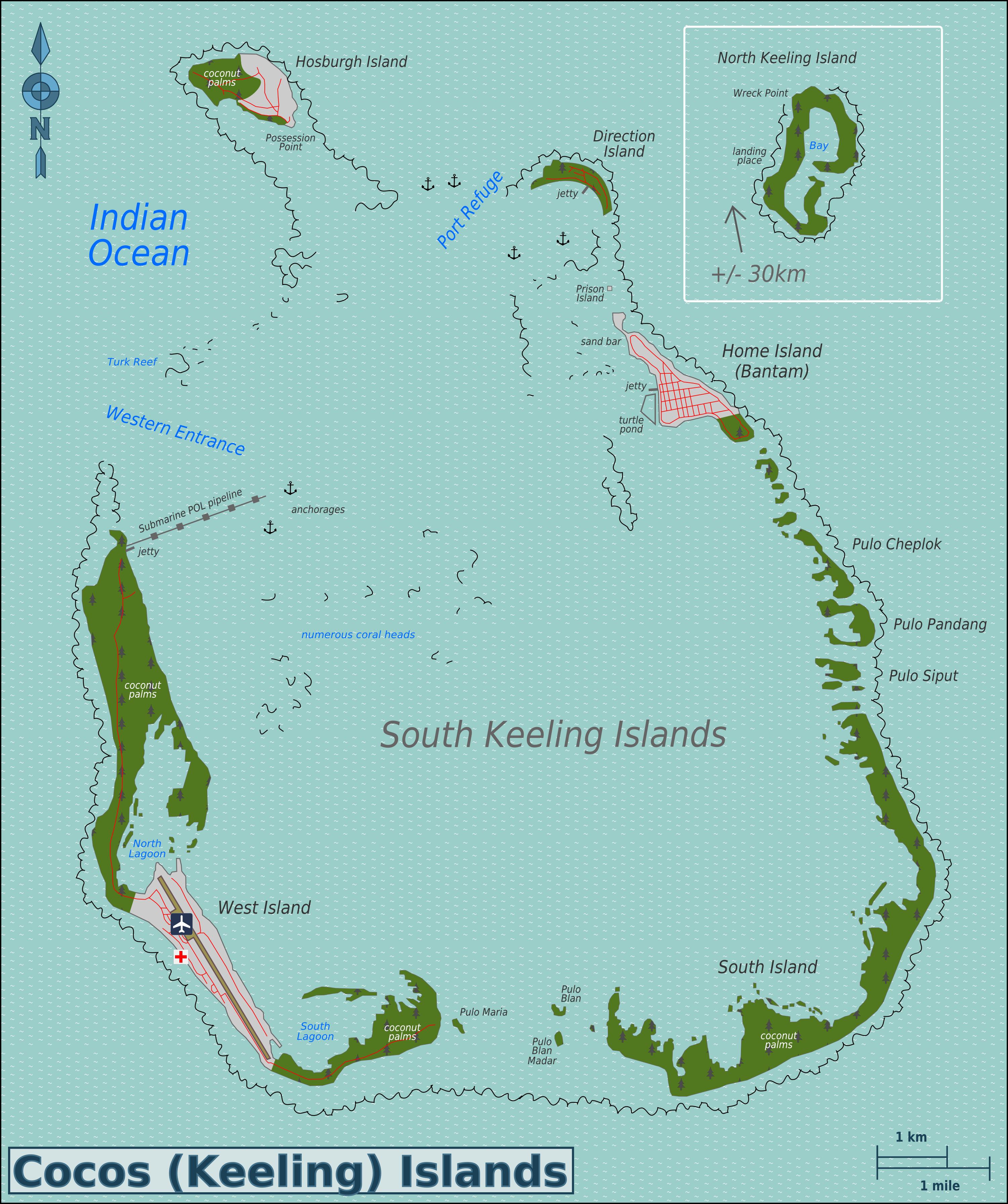 Cocos Island: Cocos (Keeling) Islands #69 (1981)