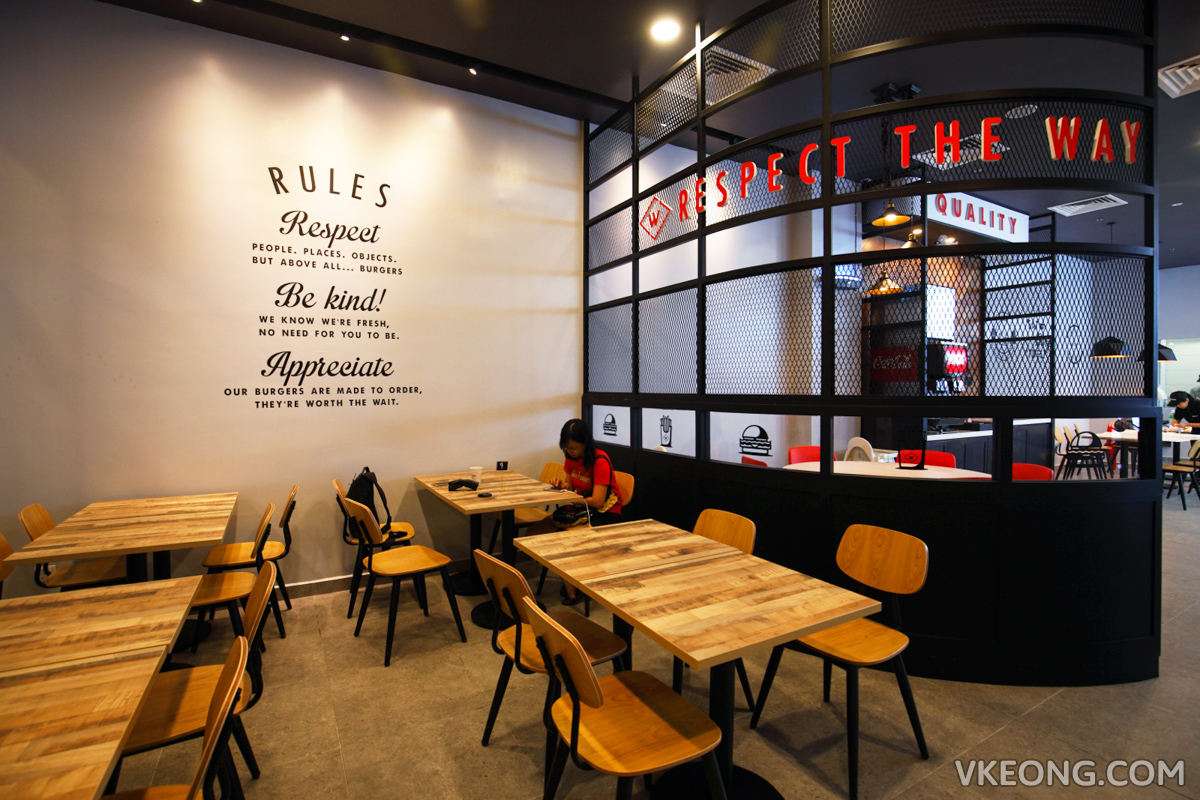 Wayback Burgers Restaurant Melawati Mall