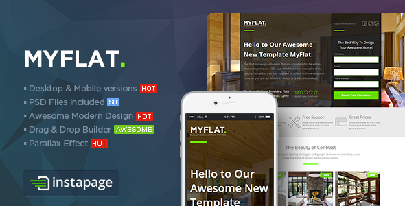 21 Themeforest Unbounce + Instapage Template Pack