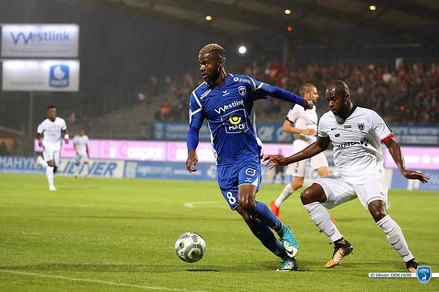 Foot Ligue 2 - Chamois Niortais FC - Paris FC (08/09/2017)