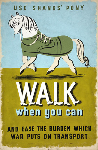 Walk-When-You-Can-poster,-designed-by-Jan-Le-Witt-and-George-Him
