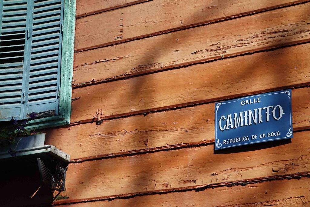Buenos Aires - La Boca - El Caminito - Sign