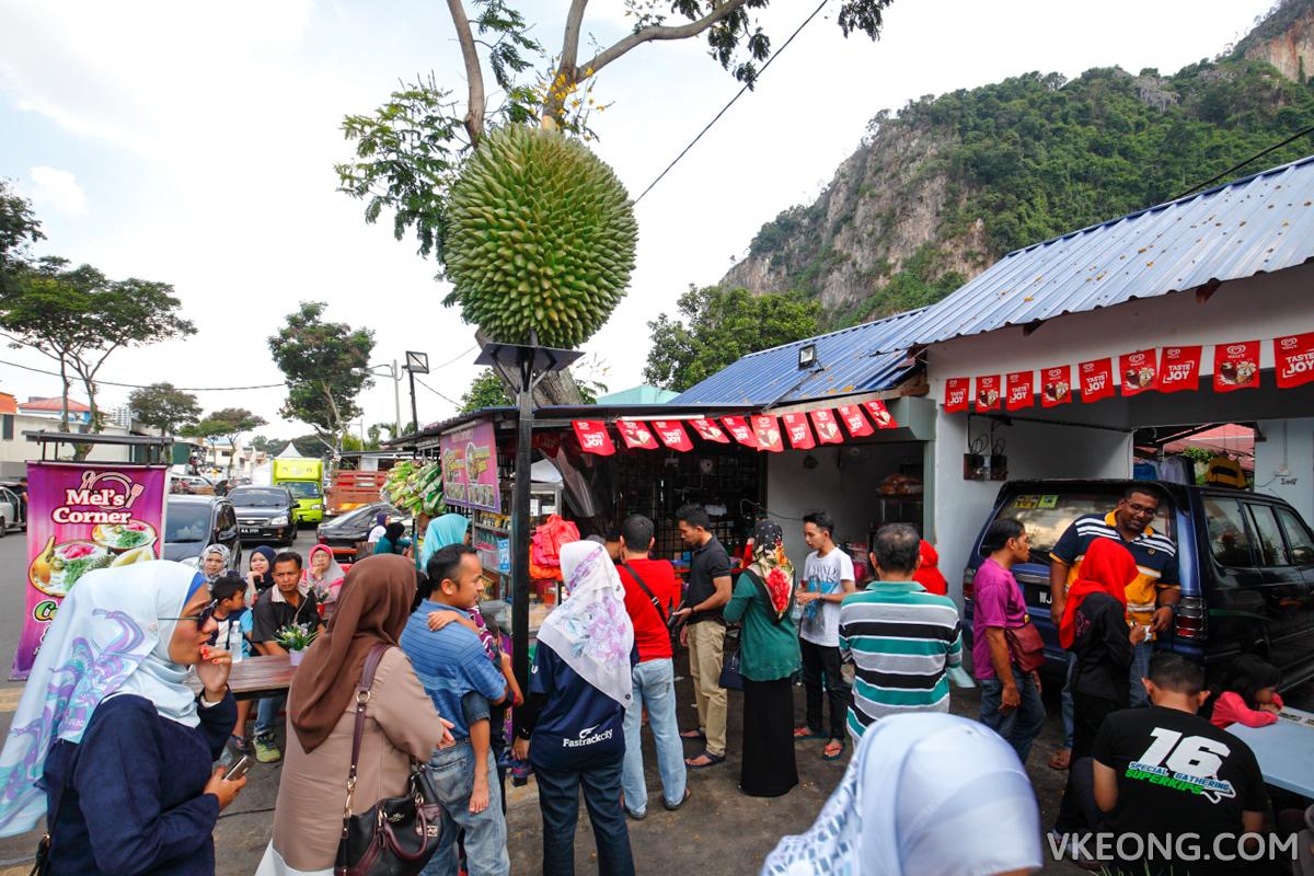 Mel's Corner Durian Cendol Batu Caves