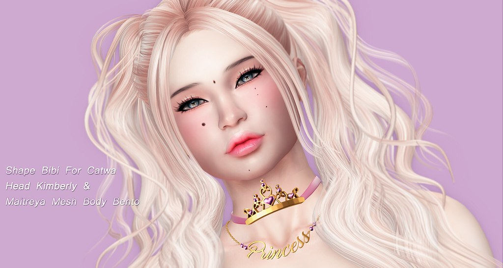 *♥* New Maria'S Shape Bibi CATWA HEAD Kimberly & Maitreya Mesh Body Bento *♥* - SecondLifeHub.com