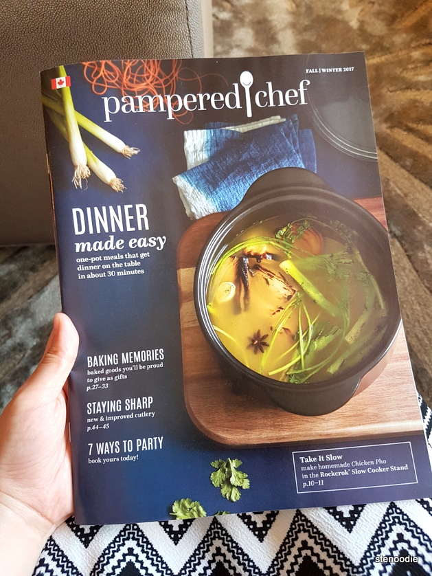 Pampered Chef catalogue