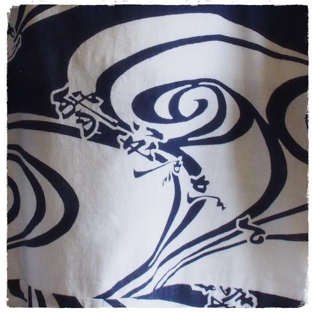 着物から簡単リメイクK'sかぶりTブラウスの作り方