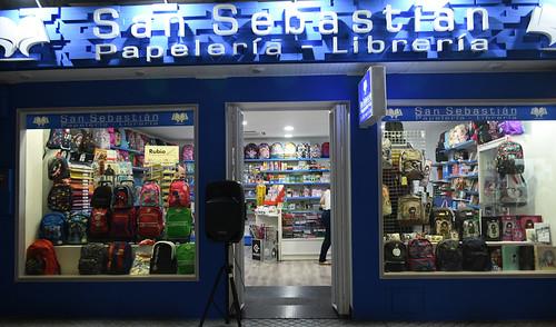 Mayor surtido y más comodidad en las nuevas instalaciones de Papelería Librería San Sebastián