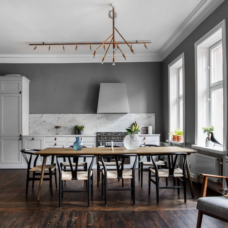 Classic Meets Scandinavian Design In This Swedish Home