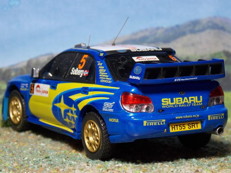 Subaru Impreza WRC - Rally Japón 2006 - HPi