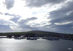 Kirkwall Marina - An Approaching Sunset