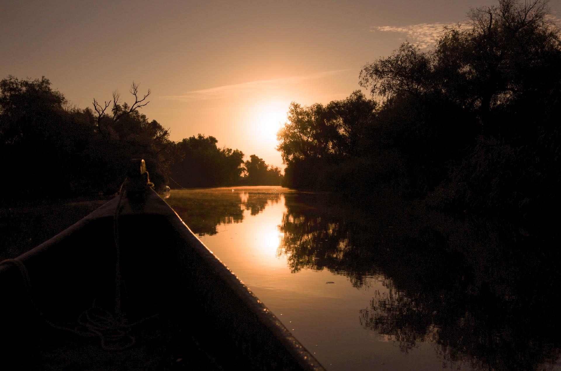 Danube Delta, Romania (rev.)