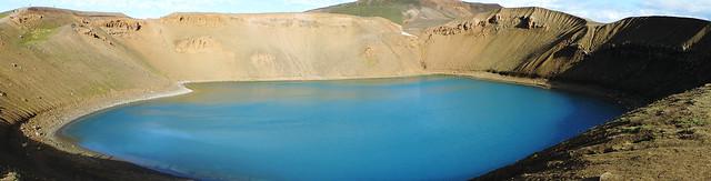 Krafla Viti crater, Iceland