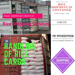 container, Rice, shipping, handling, shipping agent, ship broker, shipping company, exports of rice cargo, rice consignment