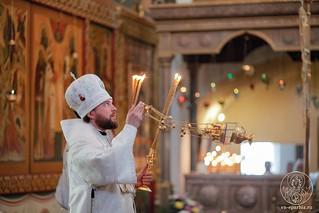 Литургия в Хутынском монастыре 340