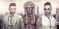 GA.EG - Evan Bento head + 3 New Beards Models