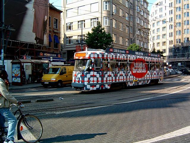 Tram in traffic - 7, Fujifilm FinePix A303