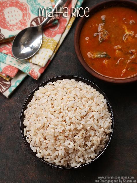 kerala matta rice