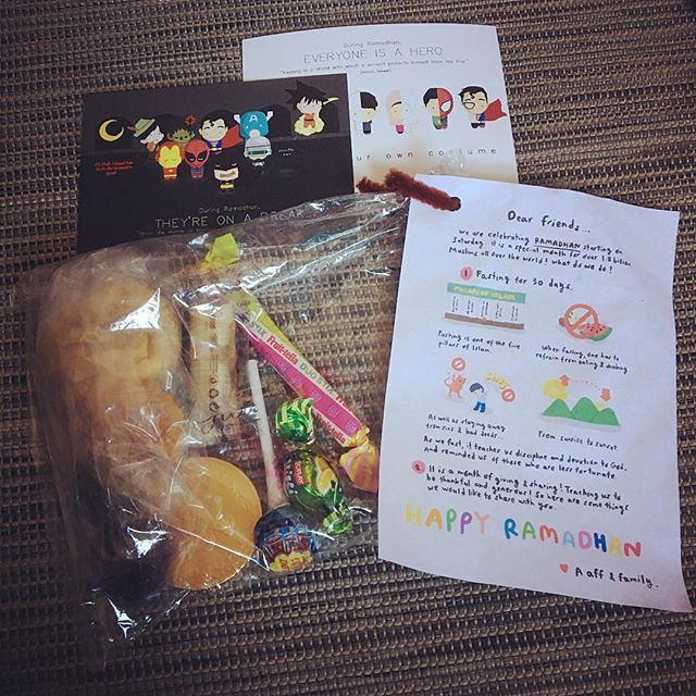 Ramadhan goodies bag for kids | Tomorrow is Ramadan and toda