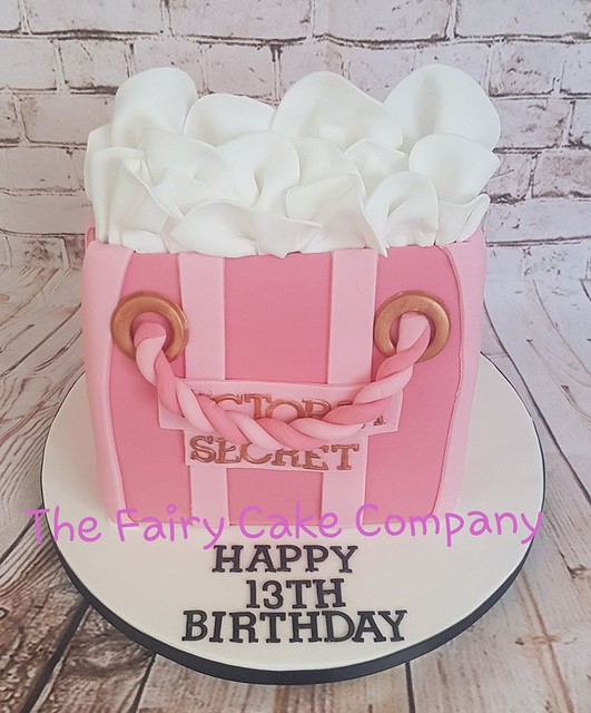 Victoria Secret Bag Cake by The Fairy Cake Company