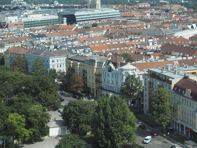View from Riesenrad, Vienna