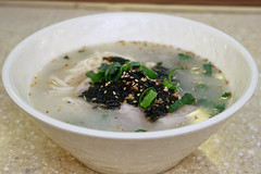 Jeju Style Noodle Soup(Guksu)