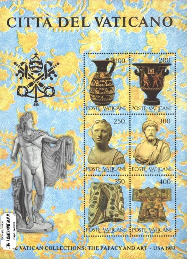Známky Vatikán 1983 Vatikánske umenie