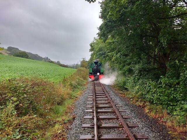 Approaching Llanfair