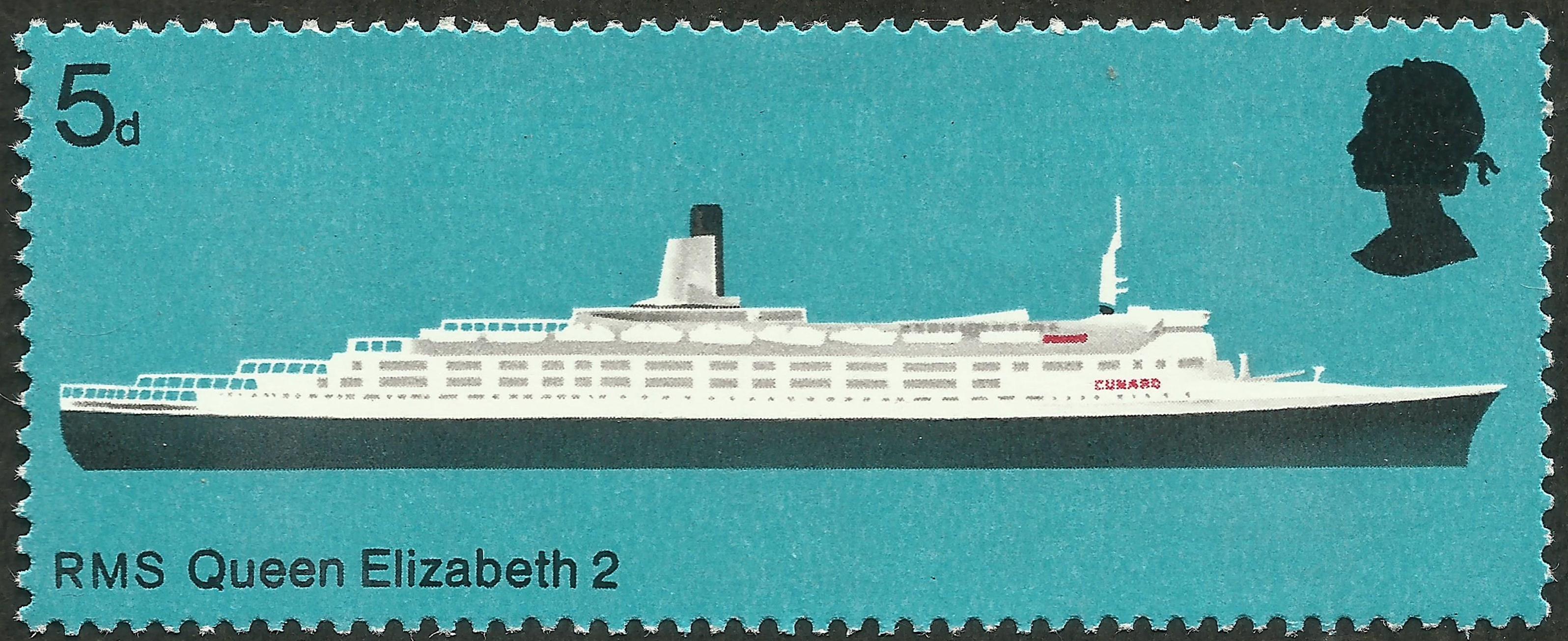 Great Britain #575 (1969)
