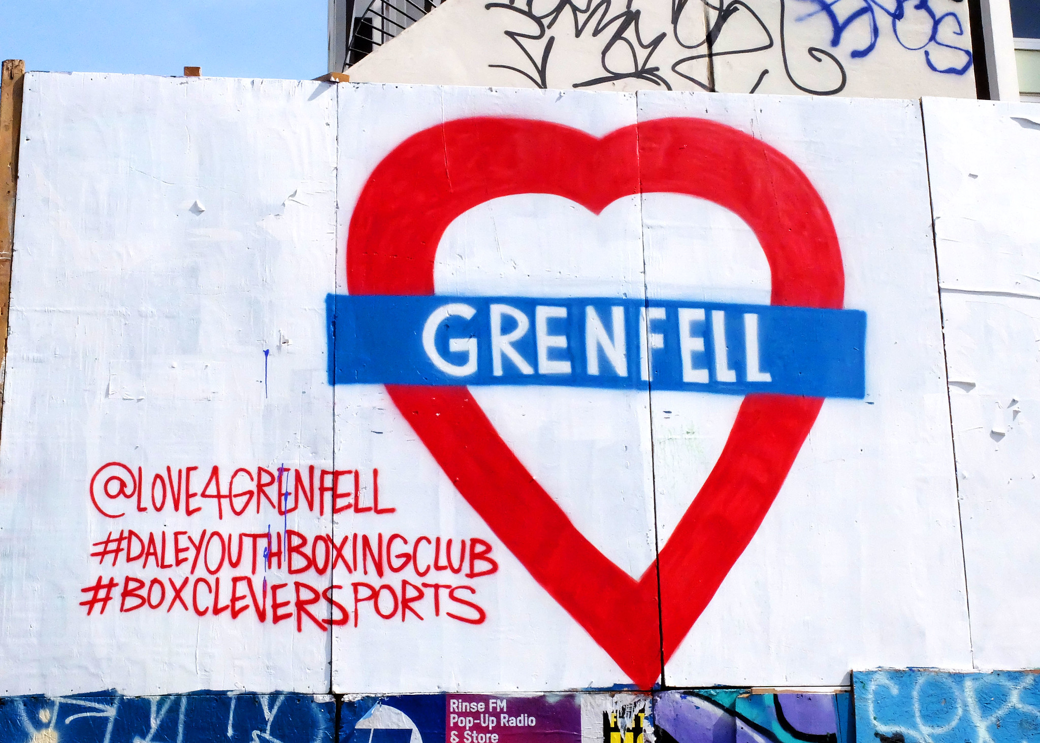 Grenfell Tower Memorials