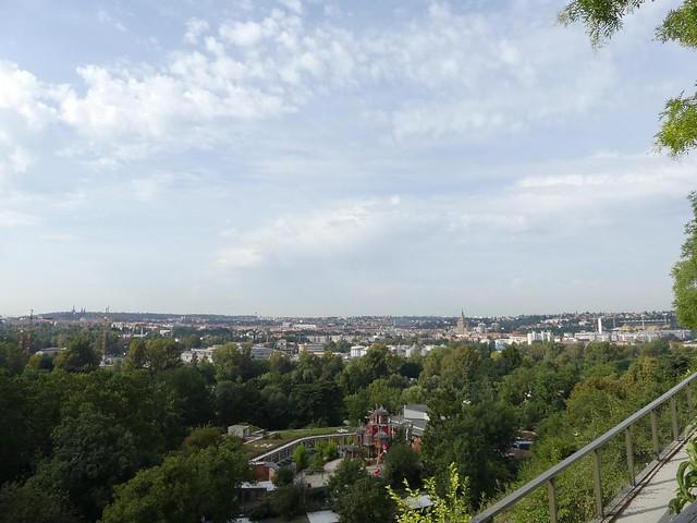 Blick vom Zoo auf Prag