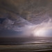 Lightning over the Pacific by AGrinberg