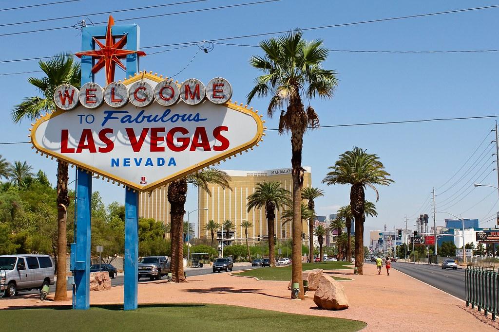 Entrada a Las Vegas