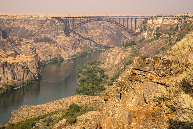 Snake River at Twin Falls, Idaho