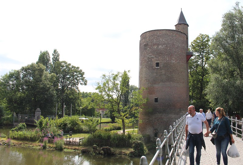 Tower in Brugge, Belgium