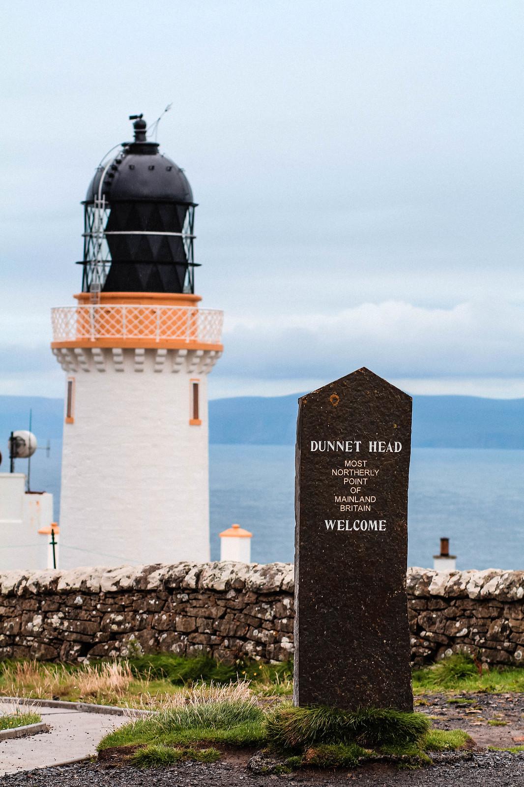 Dunnet Head Scotland NC500 travel blogger UK