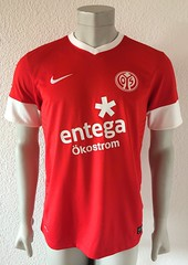 Eugen Gopko, 1. FSV Mainz 05, match worn shirt