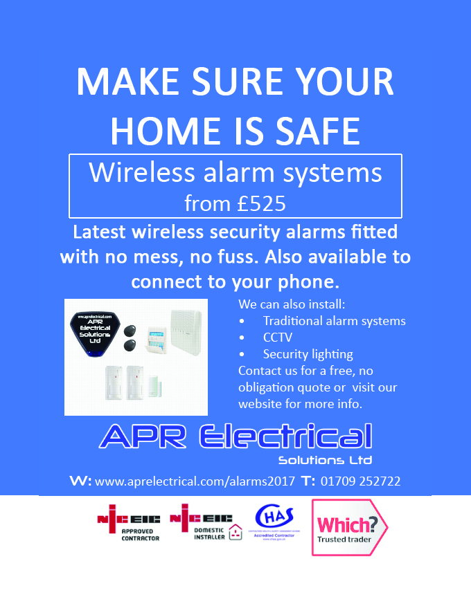 Wireless alarms sheffield