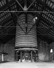 The interior of the historic ironworks