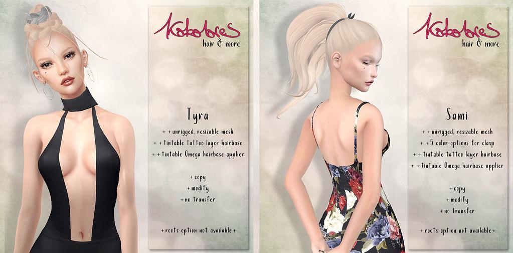 [KoKoLoReS] Hairs Tyra & Sami - TeleportHub.com Live!
