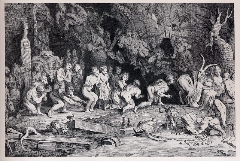 Claude Gillot - Witches' Sabbath