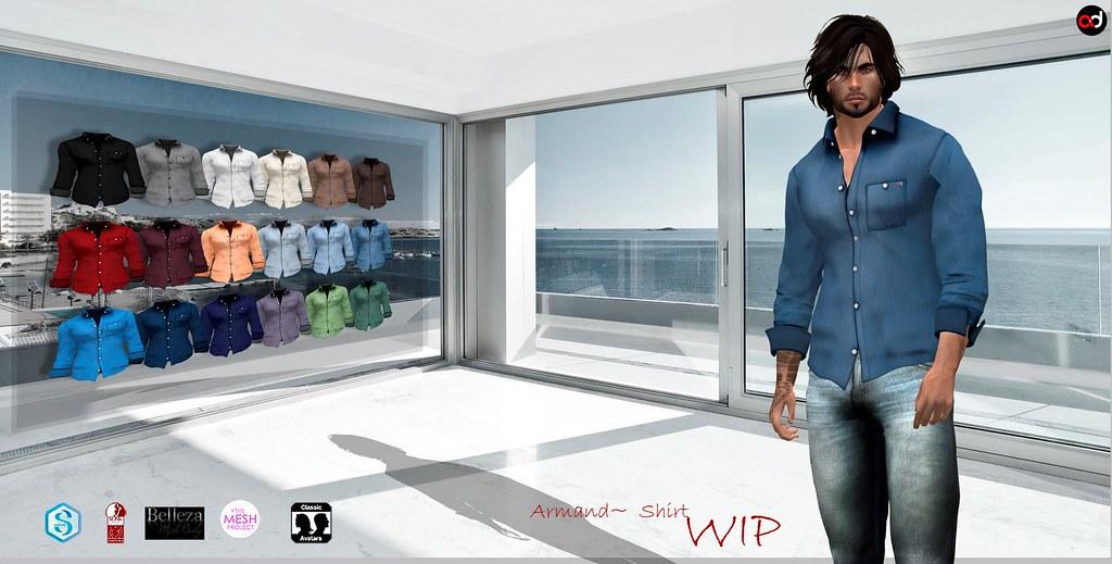 ! A&D Clothing - Shirt -Armand- Wip - TeleportHub.com Live!