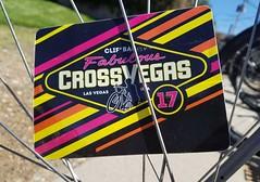 Cross Vegas 2017 die cut stickers