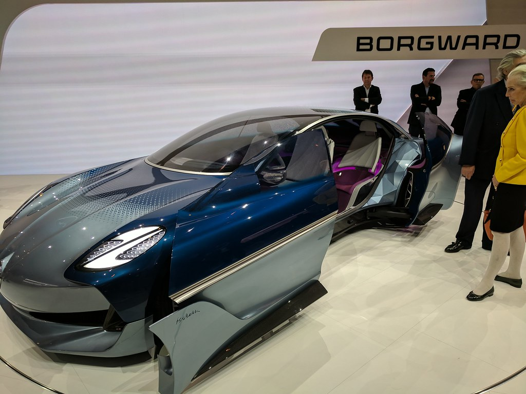 Future Borgward Car Concept Blue (IAA)