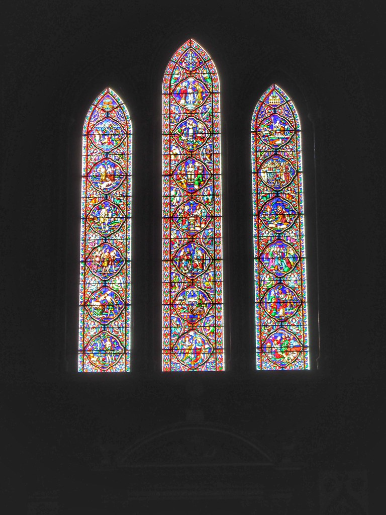 St Patricks Cathedral Dublin Stained glass window 2