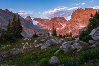 Indian Peaks sunrise