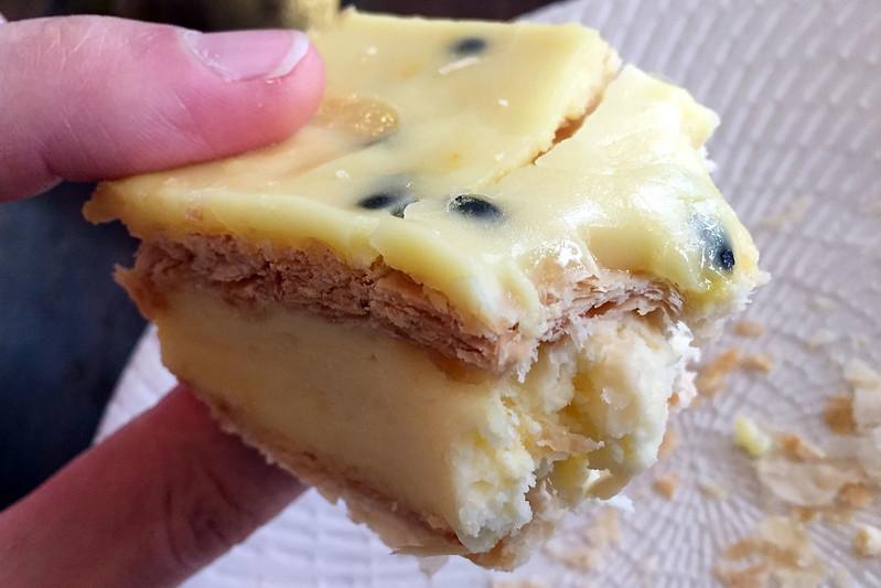 Vanilla slice, St Malo Bakery