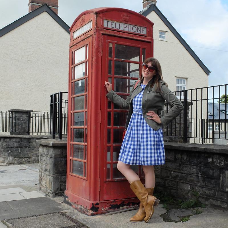 lindybop gingham dress @porcelinasworld