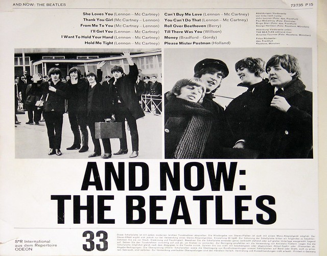 "Beatles And Now: The Beatles 12"" Vinyl LP"